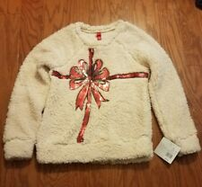 Womens christmas sweater size Medium (gift box bow)