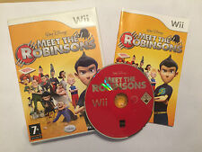 NINTENDO Wii GAME MEET THE ROBINSONS +BOX INSTRUCTIONS COMPLETE PAL GWO
