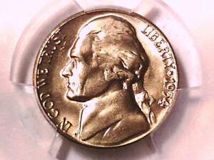 1954 S Jefferson Nickel PCGS MS 65 40735624