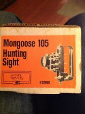 Mongoose 105 hunting sight new in box