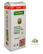20KG EASIBED Shredded Wood Bedding Clean & Dust Free For Horse Bird Cage Aviary