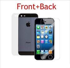 Frente Trasero HD claro transparente Protector de pantalla para Apple iPhone 5 5S 5G