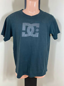 DC Shoes Black Cotton T Shirt - Medium - Free Shipping