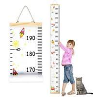 Kinder Höhe Messlatte Messleiste Haus Kinderzimmer Wand Deko Wachstumsmesser N