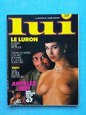 LUI n°263 décembre 1985 - Agnès Soral nue - Revue French charme