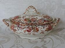 Salsiera  ovale con coperchio Chatwotrhs 1893 da Keeling & Co Staffordshire UK