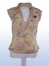 blusa camicia donna beige NAPAPIJRI tg S SMALL