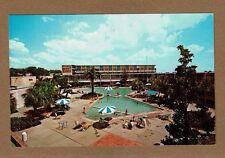 Biloxi,MS Mississippi, Buena Vista Hotel-Motel, heated pool in winter