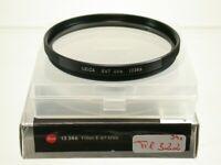Original Leica Leitz UV-A Objektiv Filter Lens E67 67 67mm Germany 13386 322/9