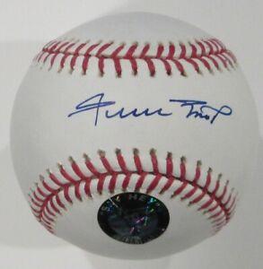 Willie Mays Signed Baseball Fanatics Authentic #532585 SF Giants Mint / Gem Mint
