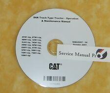 SEBU6887 CAT Caterpillar D6R Track Type Tractor Operation Maintenance Manual CD.