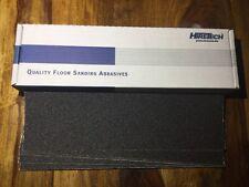 Hiretech HTF  floor sander self  abrasive sheets 40 grit Free P&P