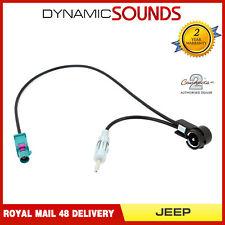 Agua CT27AA172 Azul con DIN e ISO Fakra Antena Adaptador Para Jeep Todos Los Modelos