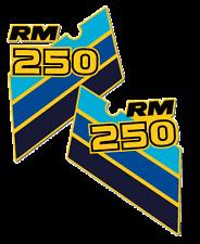 1986 Suzuki RM 250 Radiator Shroud Decals