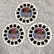 3 Barbie Dolls of the World kids travel VIEW MASTER reel viewmaster reels Set