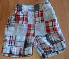 Gymboree Boys Check Shorts - Sizes6 Months, 12 Months, 18 Months, 2 & 3 - NEW