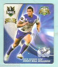 2008  CANTERBURY  BULLDOGS  RUGBY LEAGUE  TAZO  #7  SONNY BILL WILLIAMS