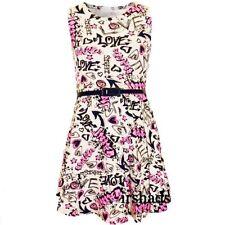 Abbigliamento rosa per tutte le stagioni per bambine dai 2 ai 16 anni Taglia 7-8 anni