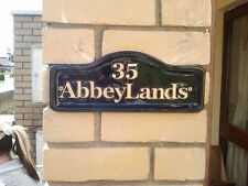 House Number, Wall Plaque, house name, funny signs