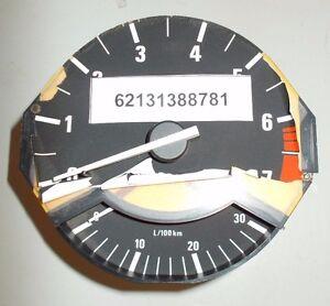 NEW GENUINE BMW 62131388781 REVOLUTION COUNTER WFUEL ECONOMY CONTR E32 E34
