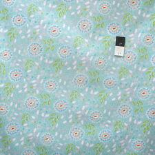 Dena Designs PWDF198 Chinoiswerie Chic Jasmine Aqua Cotton Fabric By Yard