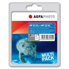 APHP21_22SET-SD367AE CARTUCCE RIGENERATE AGFAPHOTO PER HP DESKJET F2200