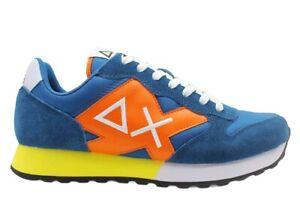 Scarpe da uomo SUN 68 JAKI Z31110 sneakers basse casual sportive comode ottanio