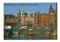 AK, HAMBURG - SPEICHERSTADT, Gebäude, Brücke