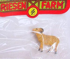 1x ZZ 1:25 Elastolin Farm Brown SHEEP Animal FIGURE G Scale Plastic MIB`70 RARE