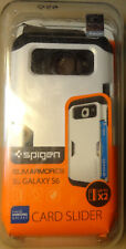 Spigen Slim Armor CS Series Double Layer Hard Case for Galaxy S6 - White/Black