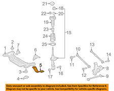 TOYOTA OEM 07-11 Camry Rear Suspension-Jack Bracket 5833907011
