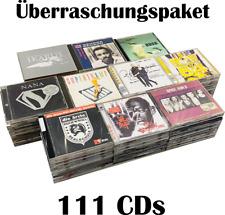 111 Musik CDs - CD Sammlung Konvolut aus Genres wie Rock, Pop, Klassik House etc