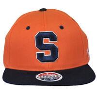 NCAA Zephyr Syracuse Orange Two Tone Flat Bill Snapback Men Adjustable Hat Cap
