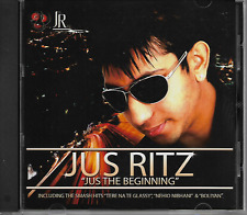 JUS RITZ - Jus The Beginning - CD - Debut Album - DJ - Bollywood - UK Punjabi