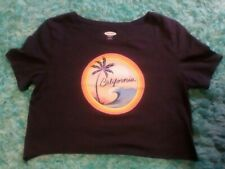 Old Navy California T Shirt Small Everwear wave Palm Tree Mountains