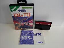 Line of Fire für Sega Master System OVP