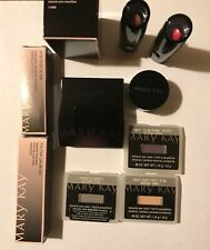 Mary Kay Timewise Make Up Lot Mirrored Compact Lipstick Eyeshadow Gloss Sponge