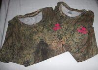 Mossy Oak BRUSH Camo Ladies T Shirts - You Choose -  Lightweight Hunting Shirts