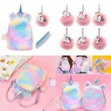 Cute Plush Unicorn Backpack, Mini Unicorn Backpack, 3D Unicorn Backpack, Soft R