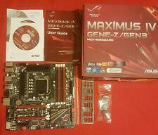 ASUS MAXIMUS IV gene-z / Gen3 LGA 1155 / SOCKET H2 Intel Z68 ROG SCHEDA MADRE