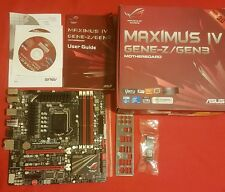 Asus Maximus IV GENE-Z/GEN3 LGA 1155/Socket H2 Intel Z68 rog carte mère