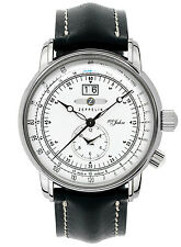 ZEPPELIN Quarz Dual Time Herrenuhr 7640-4