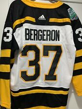 Official 2019 Winter Classic Patrice Bergeron Boston Bruins Jersey