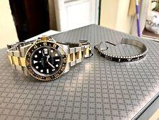 braccialetto come ghiera Rolex GMT Submariner bracciale acciaio fondo scala