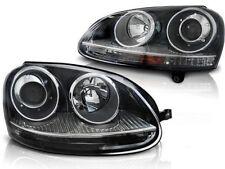 HEADLIGHTS RHT LPVW20 VW GOLF 5 2003 2004 2005 2006 2007 2008 2009 GTI BLACK