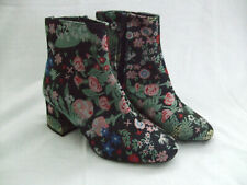 PRIMARK Chinese Embroidery Boots UK 3 Brand New
