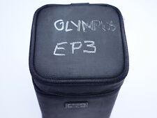 "Sigma EX LS-512F Lens Case Black (marked OLYMPUS EP3) 4 1/2 x 8"""