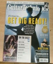 Guitar Techniques magazine #323 Jul '21 It's time to get gig ready +Malmsteen CD