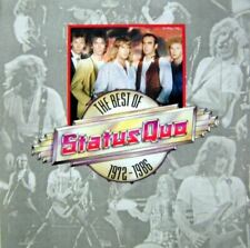 STATUS QUO the best of status quo 1972-1986 (CD, compilation) classic rock, 1989