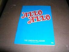 1980s Collectable Theatre Programmes Original Brochures